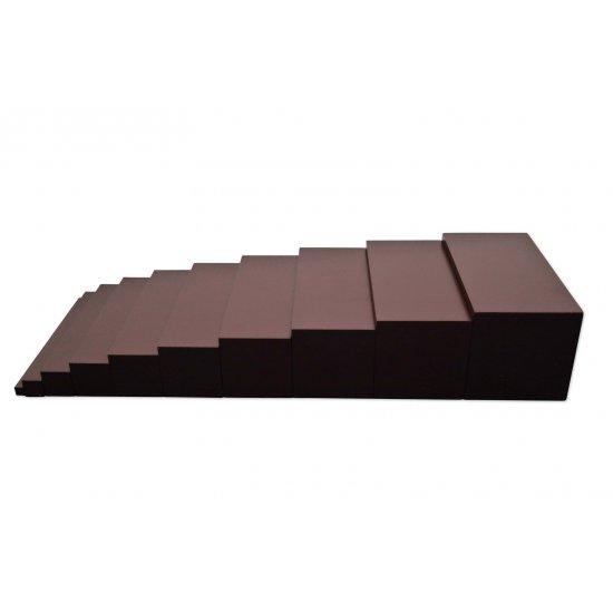 Мини кафява стълба - Монтесори материали
