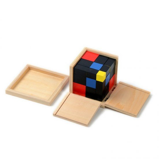 Tриномен куб - Монтесори материали