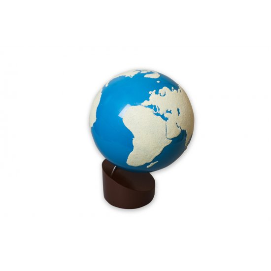 Релефен глобус земя и вода - Монтесори материали