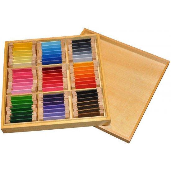 Цветна кутия номер 3 - Монтесори материали