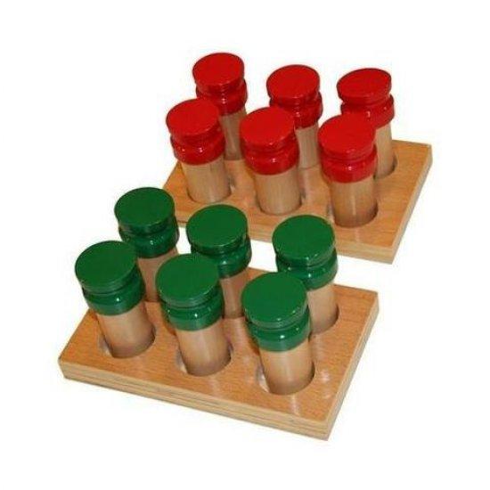 Ароматни дървени бутилки - Монтесори материали