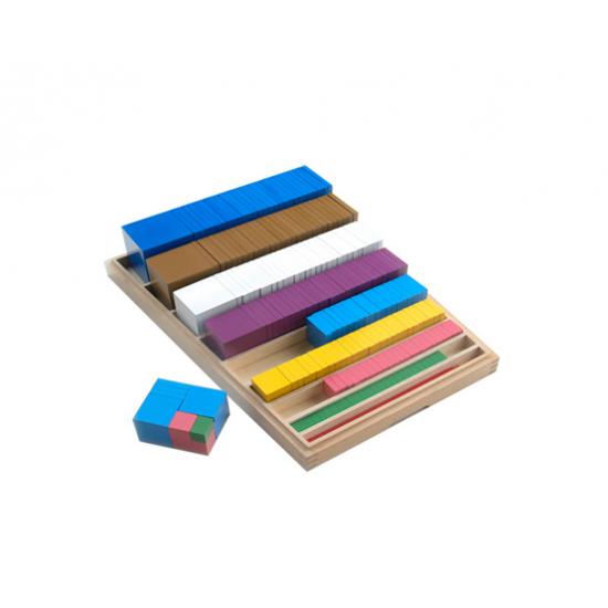 Монтесори кубичен материал - Монтесори материали