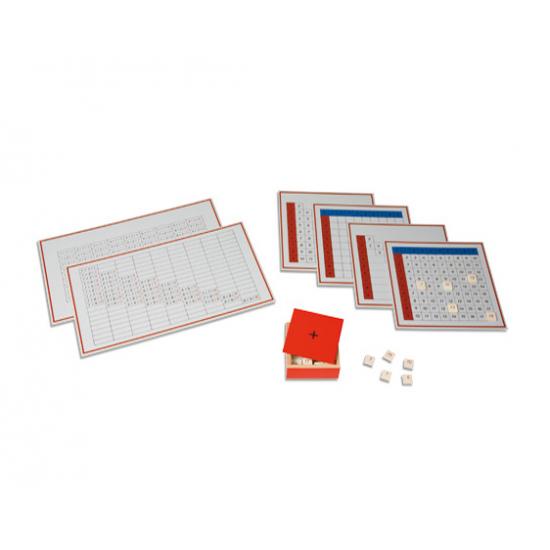 Табла за деление 2 - Монтесори материали