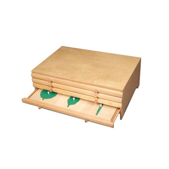 Ботанически шкаф - Монтесори материали