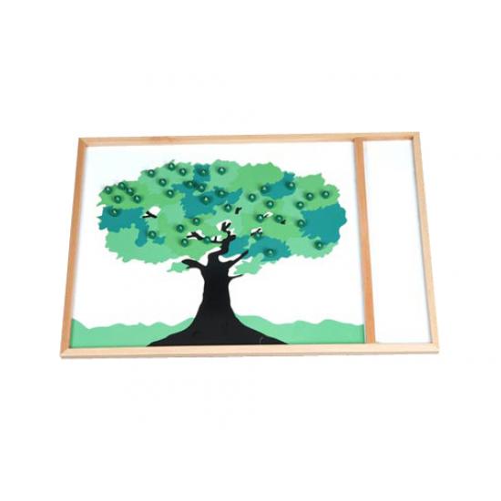 Пъзел дърво - Монтесори материали