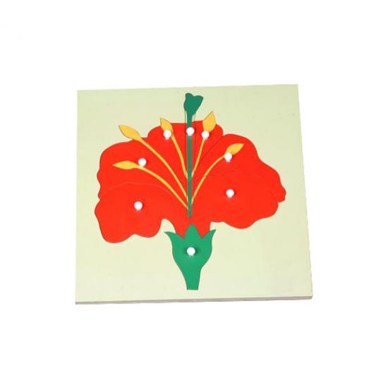 Пъзел цвете - Монтесори материали