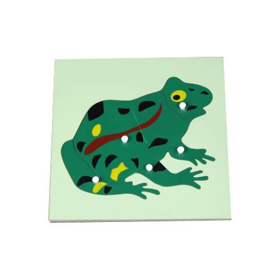 Пъзел жаба - Монтесори материали