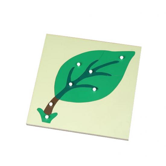 Пъзел листо - Монтесори материали