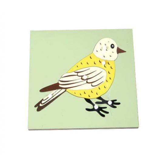 Пъзел птица - Монтесори материали