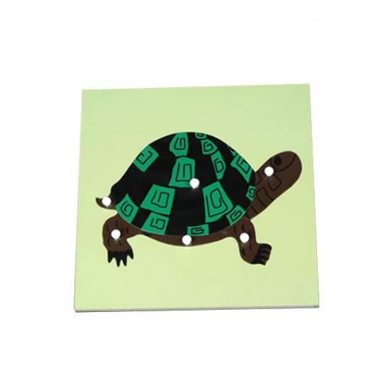 Пъзел костенурка - Монтесори материали