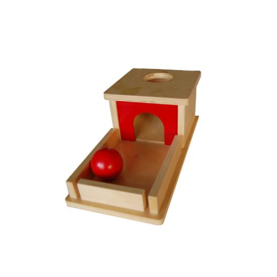 Кутия за постоянство на предмета - Монтесори материали